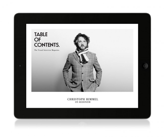 © Table of Contents