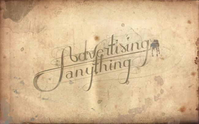 Advertising Anything