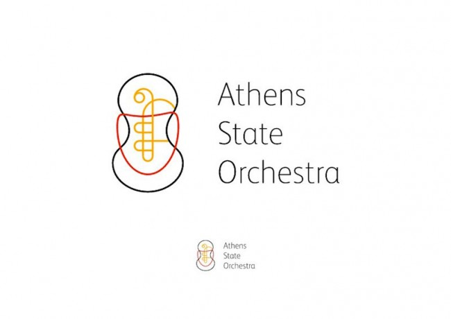 Gold: g design studio - Logo  Athens State Orchestra
