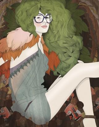 Hibernate (2011) | Illustrationen für die online Plattform Illustration Friday. Zu wöchentlich wechselnden Themen kann man sich hier zu freien Arbeiten inspirieren lassen und untereinander darüber austauschen.