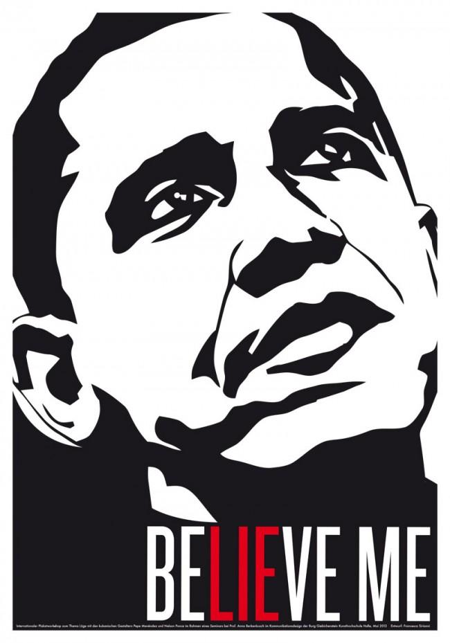 BELIEVE ME – Obama