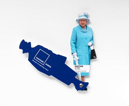 Bild Pantone Queen Jubilee