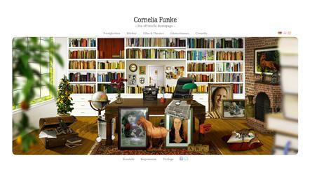 Bild Cornelia Funke Website