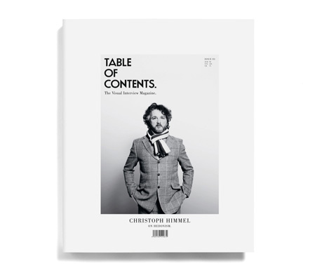 Bild Table of Contents