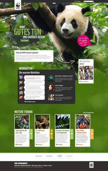 Bild WWF Dialog Website
