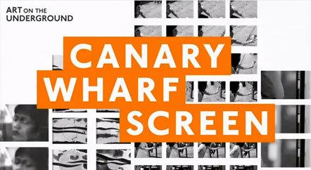 Bild Canary Wharf Screen