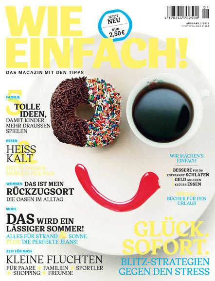 Bild wie einfach Magazin