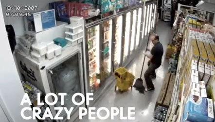 Bild Coca Cola Überwachungskamera