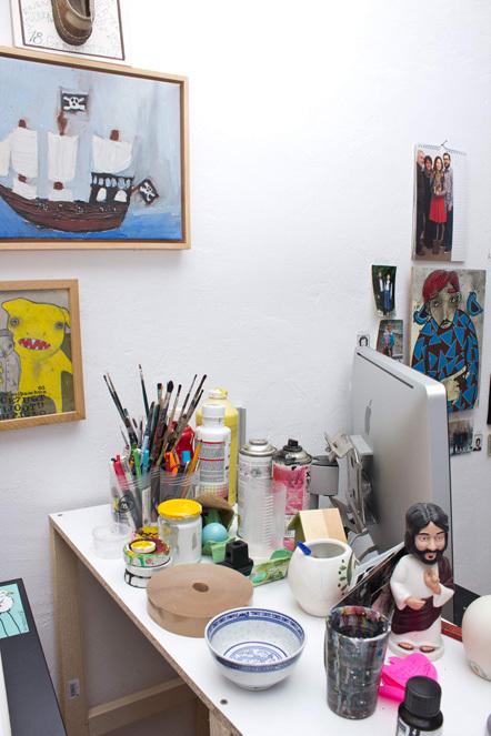 Bild Blick ins Studio Yackfou