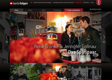 Bild Grimme Online Award berlinfolgen