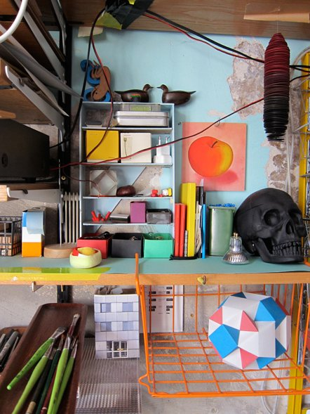 Bild Blick ins Studio Holly