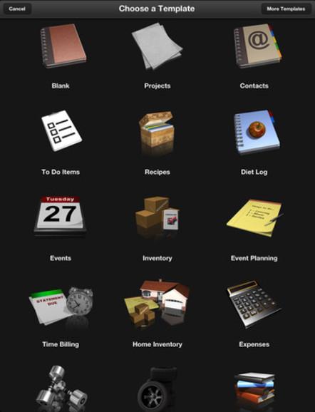 Bento 4 für iPad