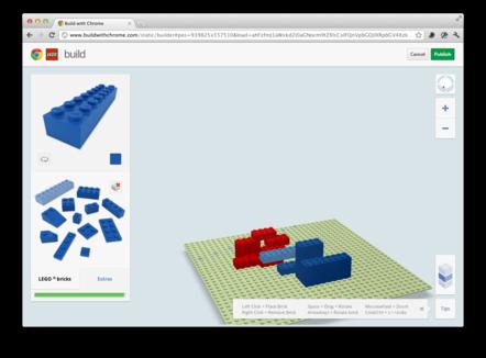 LEGO-Platte