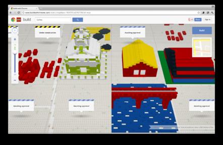 Sydney in Lego