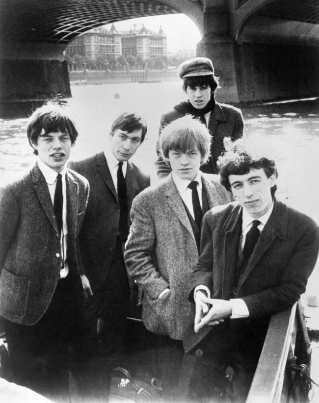 Gruppenbild in einem Boot, 1964