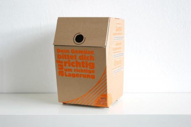 Eine geschlossene Box
