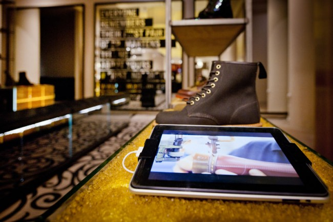 Temporäre Installation Dr. Martens bei Selfridges in London, Checkland Kindleysides