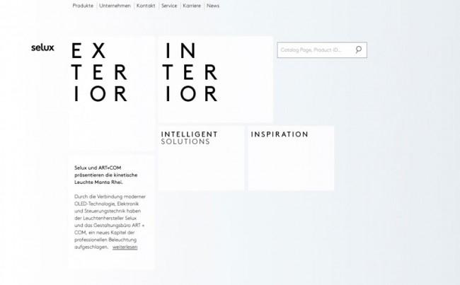 selux Website