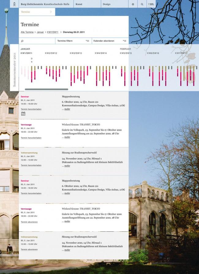 Relaunch Burg Giebichenstein – Kunsthochschule Halle