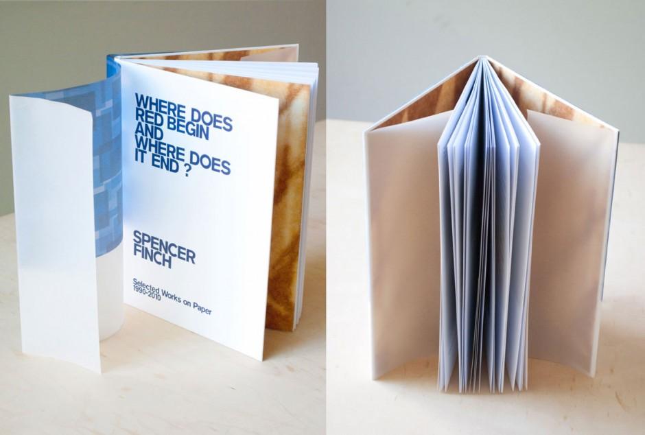 Galerie Nordenhake: Katalog für Spencer Finch