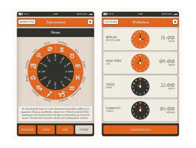 Smartbook Uhren-App