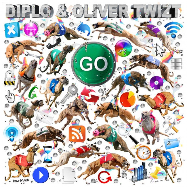 Go, Artwork and music video for the single Go by Diplo & Oliver Twizt, bit.ly/Au7Uhh