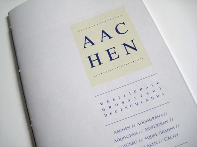 Aachen Zine: In einem Zine wird meine Heimatstadt charakterisiert. Ohne Anspruch auf Vollständigkeit werden besondere Merkmale und Stimmungen eingefangen.