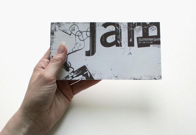 Summerjam: Titel Programmheft