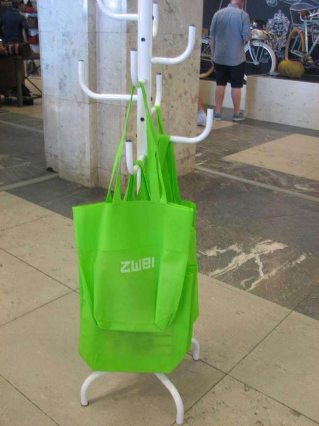 Es grünt: Die Bag des Taschen-Herstellers Zwei