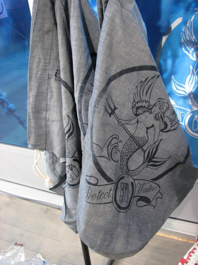 So schön und wie politisch korrekt: Jeansbeutel des engagierten Labels Orta Blu