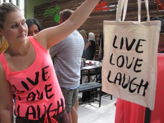 Live Love Laugh von nümpf