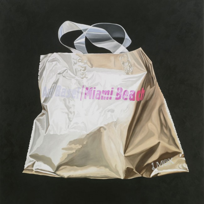 Marie-Claire Baldenweg: Art Basel / Miami Beach, 2010, Öl auf Leinwand, 160x160 cm
