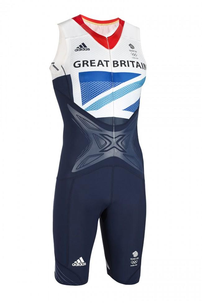 Adidas Team GB Powerweb Sprint Suit, designed by Stella McCartney