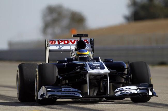 William's FW33 F1 racing ca