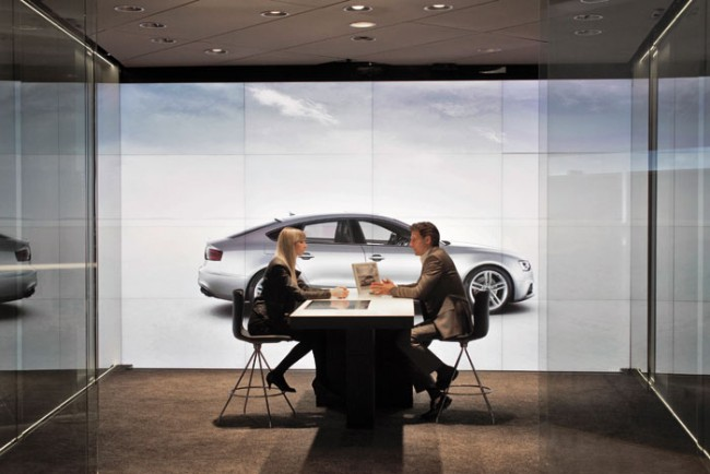 Beratung in der Audi City