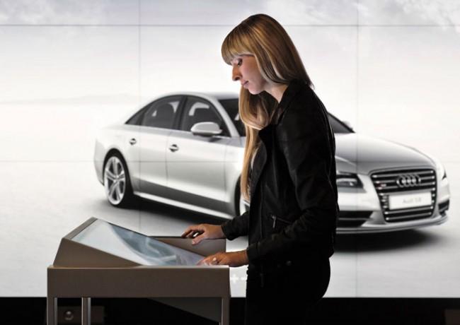 Multi-Touch-Tische dienen als Konfiguratoren