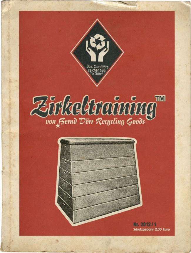 Der Zirkeltraining-Katalog präsentiert sich ab sofort in Vintage-Rot