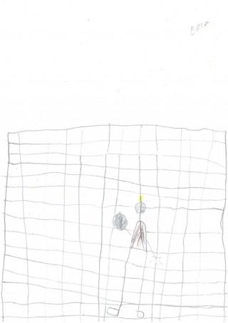 Der Fußballtorwart. Von Erik, 7 Jahre