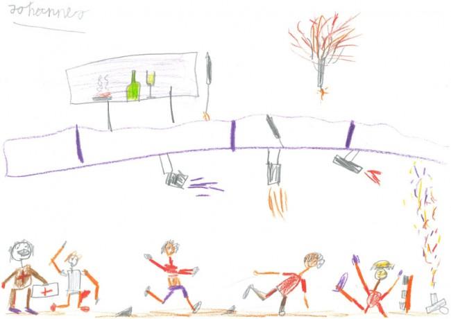 Das Sportfest. Von Johannes, 8 Jahre