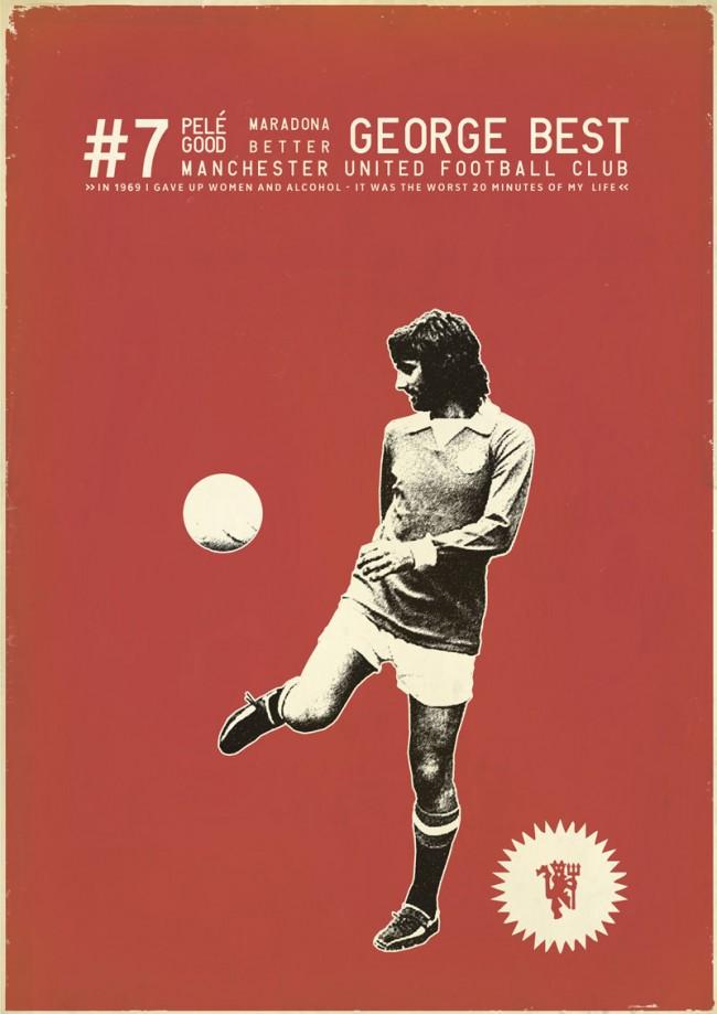 Zoran Lucić aus Bosnien-Herzogowina schuf unter der Überschrift »Sucker for Soccer« mehr als 70 wunderbare Illustrationen, die eine Hommage an aktuelle Fußball-Stars und Legenden vergangener Zeiten darstellen.