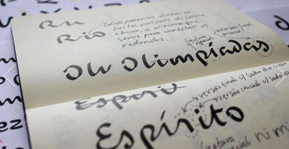 Schrift für Rio