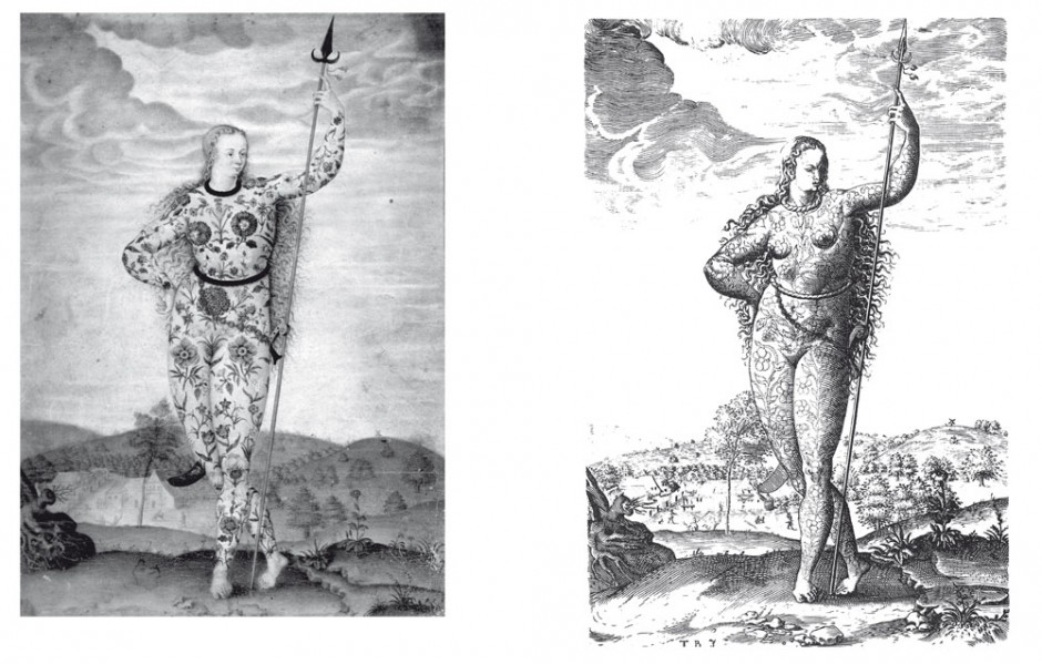 Links: Jacques le Moyne des Morgues, A Young Daughter of the Picts.