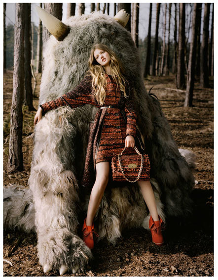 Bild Mulberry Kampagne Tim Walker