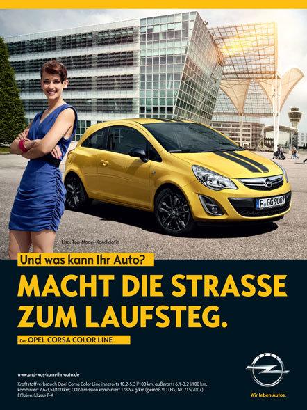 Bild Kampagne Opel Scholz und Friends