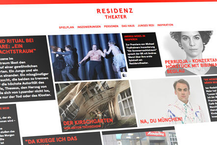 Bild Website Residenztheater