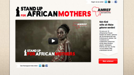Bild Stand up for african mothers