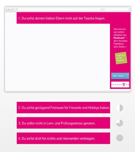 Bild Telekom Banner-Kampagne