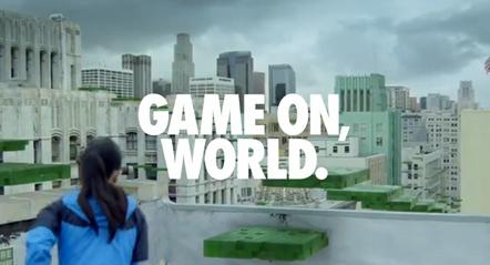 Bild Nike Game On, World