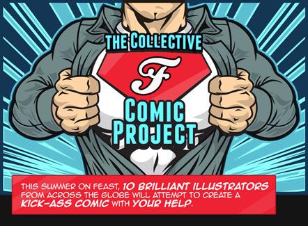 Bild Collective Comic Project