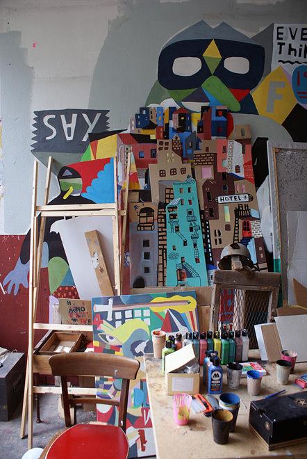 Bild Blick ins Studio 44Flavours